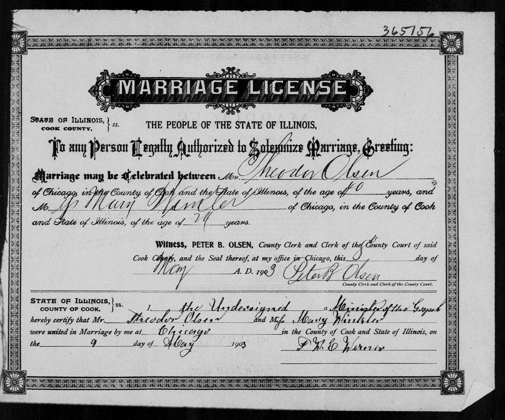 Theodor Olsen marriage.jpg