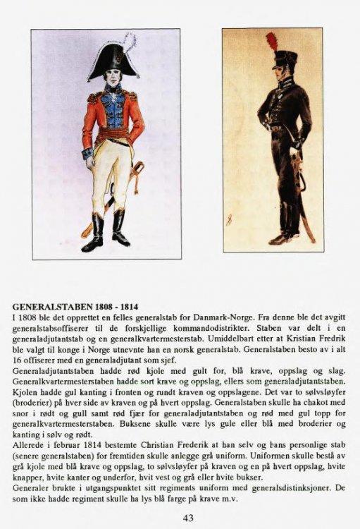 Premierløytnant 1814 Foto Tegning Den norske hær uniformer.jpg