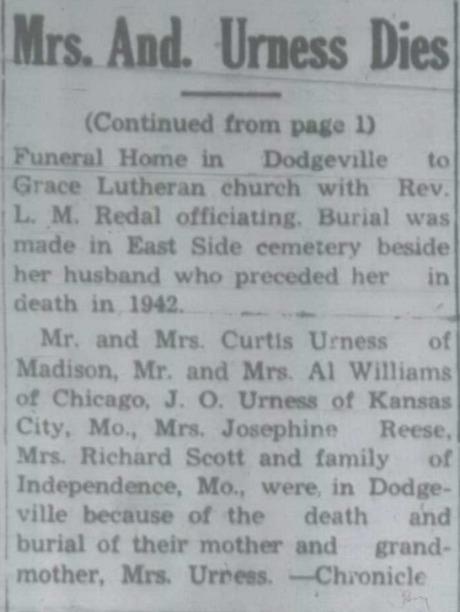 Blanchardville Blade, Blanchardville, WI, 14 Dec 1950, page 2.jpeg
