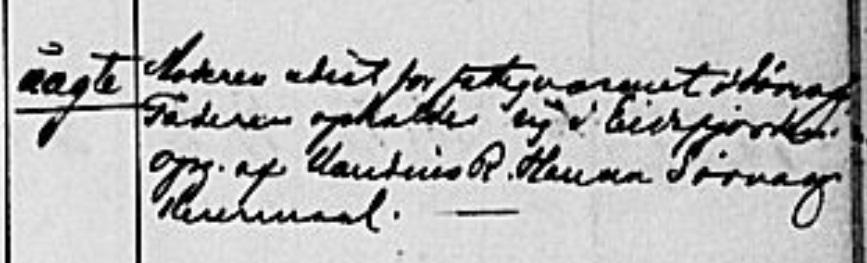 1889 Bernard Lisas  Einar s birth Nyksund 2.jpg