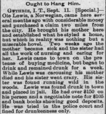 The Evening Journal (Wichita, Kansas) 11 Sep 1889, Wednesday, Page 1.jpg