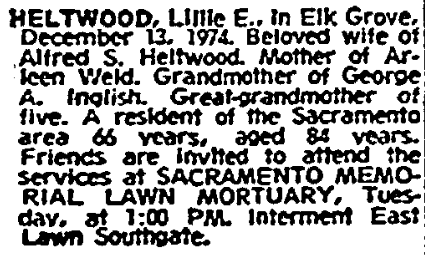 Sacramento Bee Sunday, Dec 15, 1974 Sacramento, CA Page 75.png