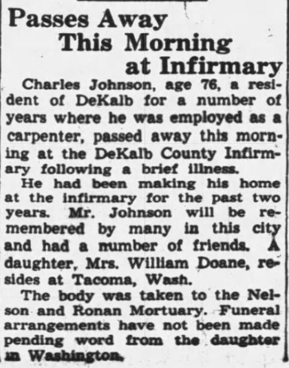 The Daily Chronicle (De Kalb, Illinois) 11 Apr 1945, Wednesday, Page 1.jpeg