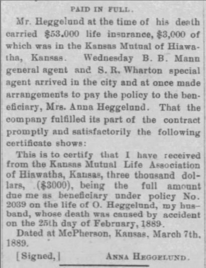 The Kansas Democrat (Hiawatha, Kansas) 14 Mar 1889, Thursday, Page 3.jpg