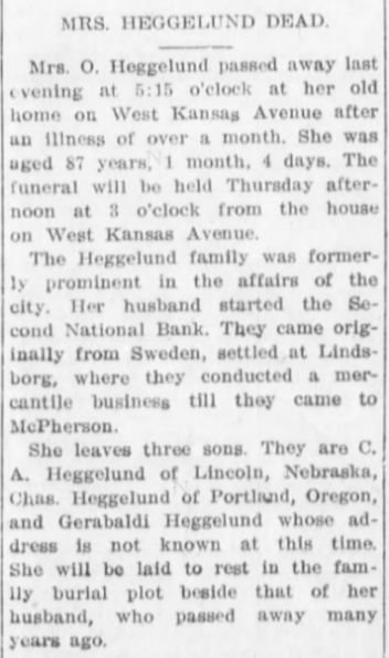 The McPherson Daily Republican (McPherson, Kansas)13 Aug 1913, Wednesday, Page 1.jpg
