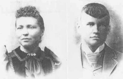 Agnete Holman and husband Han Christeniansen Skejebriea. Aka Harry Oleson.jpg